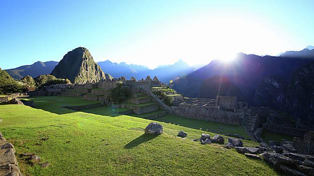 Machu Picchu at Sunrise 1 by Sleepy Weasel