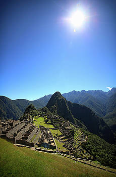 Machu Picchu Incan Warrior by Sleepy Weasel