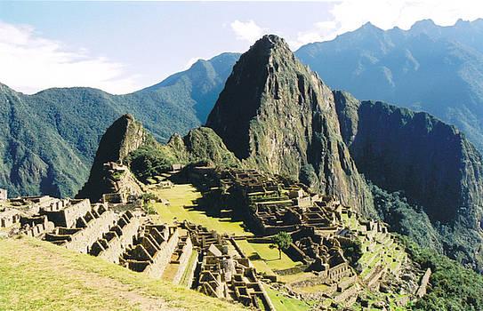 Machu Picchu by Kathy Schumann