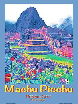 Dennis Cox Photo Explorer - Machu Picchu Travel Poster