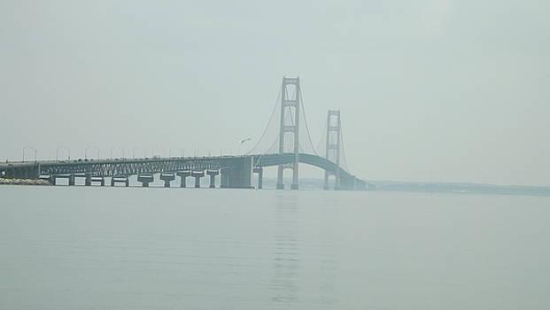 Mackinac Bridge 2 by Dennis Pintoski