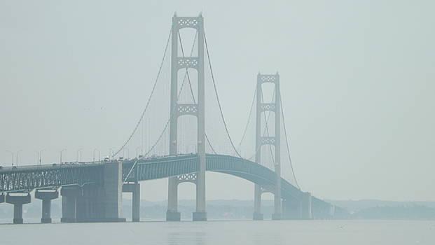 Mackinac Bridge by Dennis Pintoski