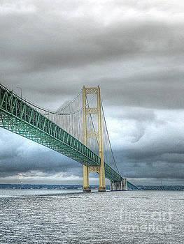 Mackinac Bridge by Randy Pollard