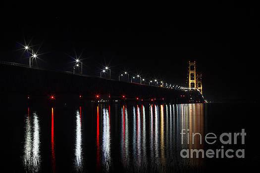 Mackinaw Bridge by Amie Lucas