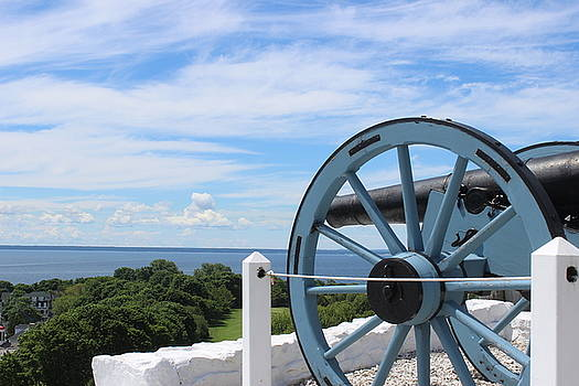 Mackinac Cannon by Murad Abel