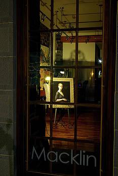 Macklin Gallery Window by Paul Wash