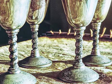 Macro Goblets Still Life by Phil Perkins