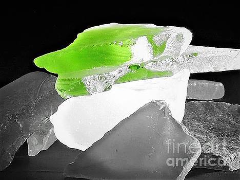 Macro Sea Glass by Chad and Stacey Hall