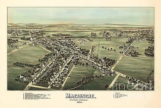 Fowler-Titchenal - Macungie Pennsylvania Birdseye Print