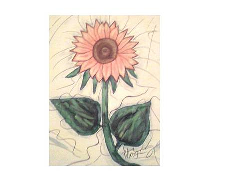 Mad flower by Mary Logan jozefik