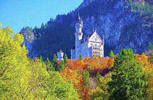 Mad Ludwig's Castle by Dennis Cox Photo Explorer