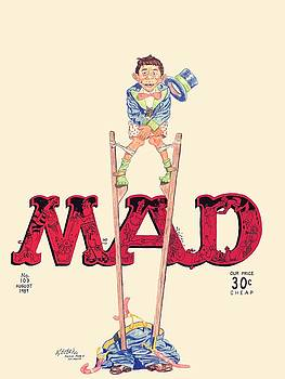 MAD Magazine Cover by William Beyer
