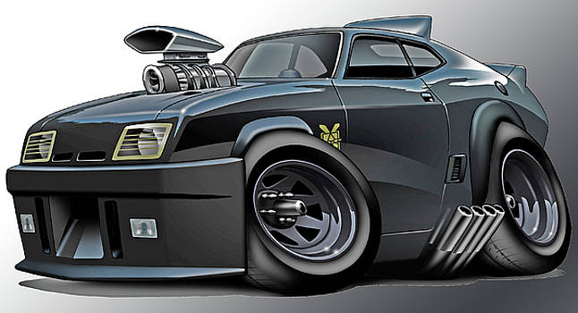 Mad Max Falcon Interceptor by Maddmax