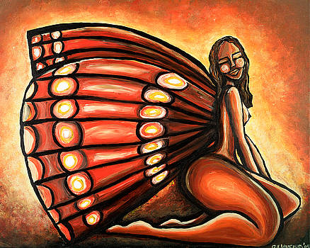 Madame  Butterfly I by Tiffany Yancey