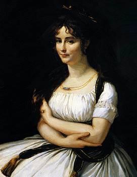 Madame Pasteur 1796 by Gros AntoineJean