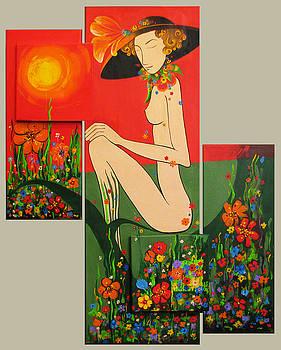 Madame Soleil by Ioana Harjoghe Ciubucciu