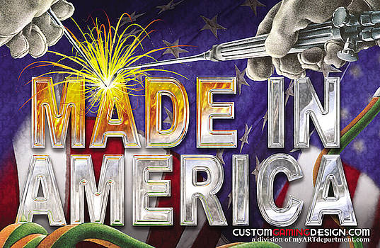 Made In America by Cindy D Chinn