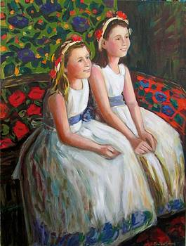 Madeline and Carolyn by Marilene Sawaf