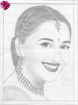 Madhuri Dixit A Bollywood Actress by Saleem Siddiqui