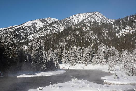 Madison River Winter by Scott Wheeler