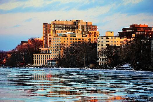 The Edgewater Hotel On Ice by Jeff Murphy