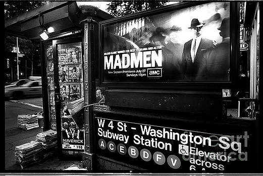 Madmen, West Fourth Street by Lynn Lieberman