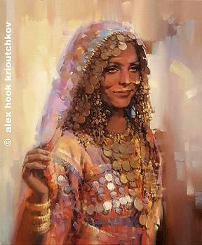 Madona of India VI by Alex Hook Krioutchkov