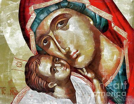 Madonna and Child by Daliana Pacuraru