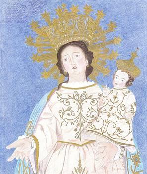 Madonna Delle Grazie Di Termine  by Bernardo Capicotto