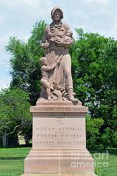 Madonna of the Trail, Council Grove by Catherine Sherman
