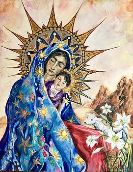 Madonna of the Unescorted  by Mary C Farrenkopf