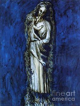 Picasso - Madonna With A Garland