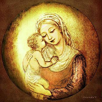Mary and Jesus  by Ananda Vdovic
