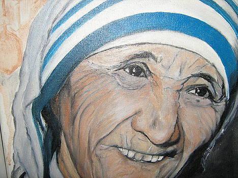 Madre Teresa  by Maria  Da Assuncao Lima