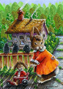 Mae Rabbit's Stroller Time by Jacquelin Vanderwood