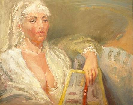 Magdalene by Irena  Jablonski