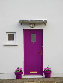 Mike Shaw - Magenta Door in Co. Cork