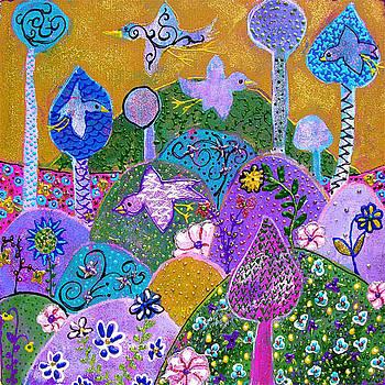 Magenta Dream by Margaret  Blanchett