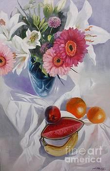 Magenta by Lin Petershagen
