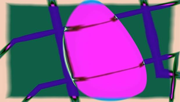 Magenta Orb in Straps by Eye Browses