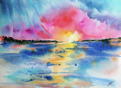 Magenta Sunset by Adam VanHouten