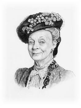 Joyce Geleynse - Maggie Smith as the Dowager Countess, Downton Abbey