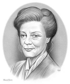 Maggie Smith by Greg Joens