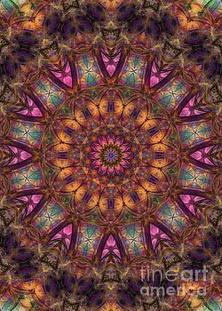 Justyna Jaszke JBJart - Magic 22 mandala art