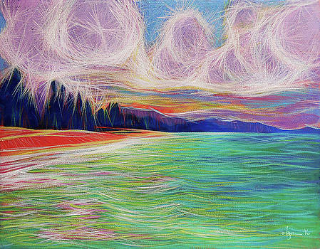 Magic Beach by Angela Treat Lyon