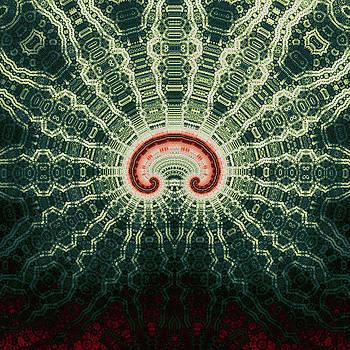 Magic Bow Spiral No. 4 by Mark Eggleston