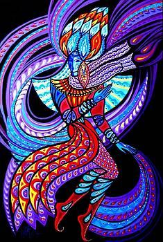 Magic Dance in the Void by Inga Vereshchagina