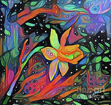 Magic Garden Daffodil by Nina Silver