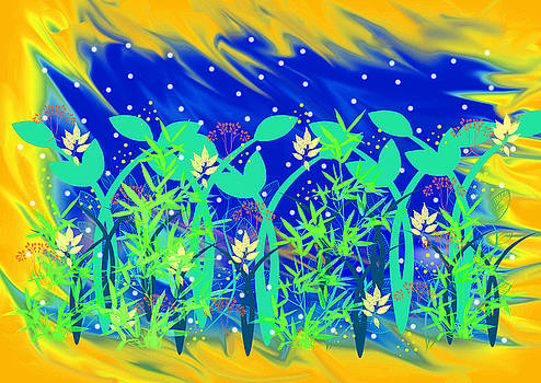Magic Garden Two by Rosalie Scanlon