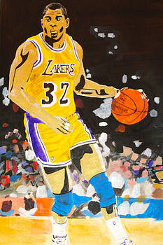 Magic Johnson by Estelle BRETON-MAYA